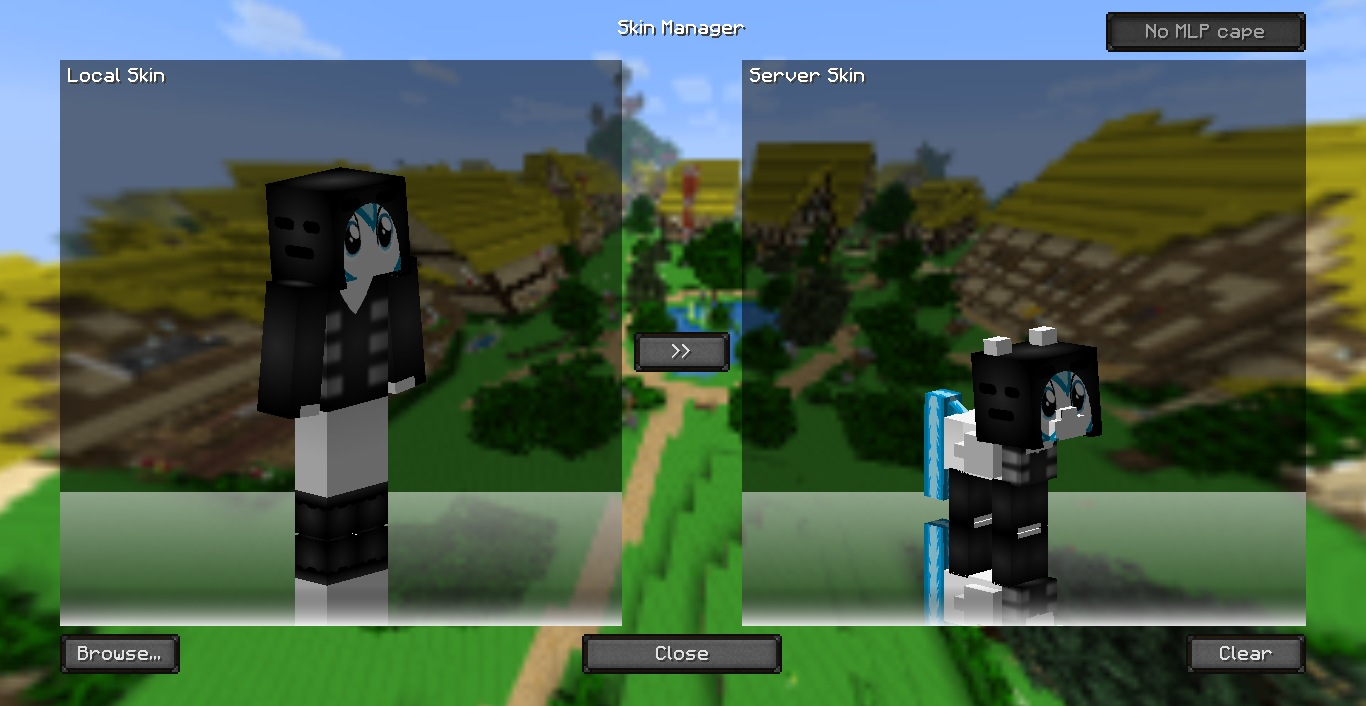 Minecraft Mine Little Pony Mod Skin Creator Mine Little Pony V - Skins para minecraft pc 1 11