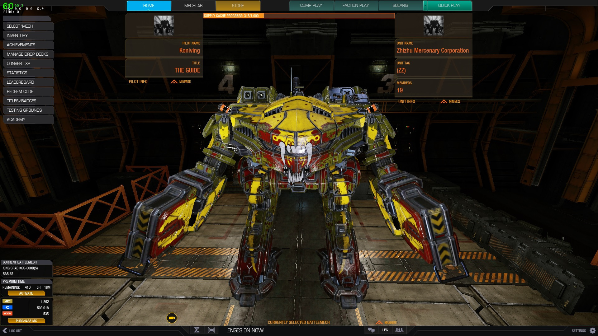 MWO: Forums - King Crab Nerfed To Cannon Fodder - Page 2